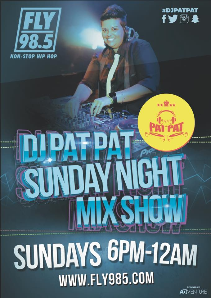DJ PatPat Sunday Night Mix Show FLY 98.5